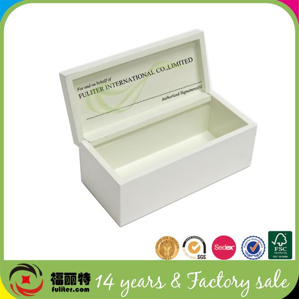 Decorative Boxes In Bulk : Decorative milky white cheap small wooden boxes wholesale