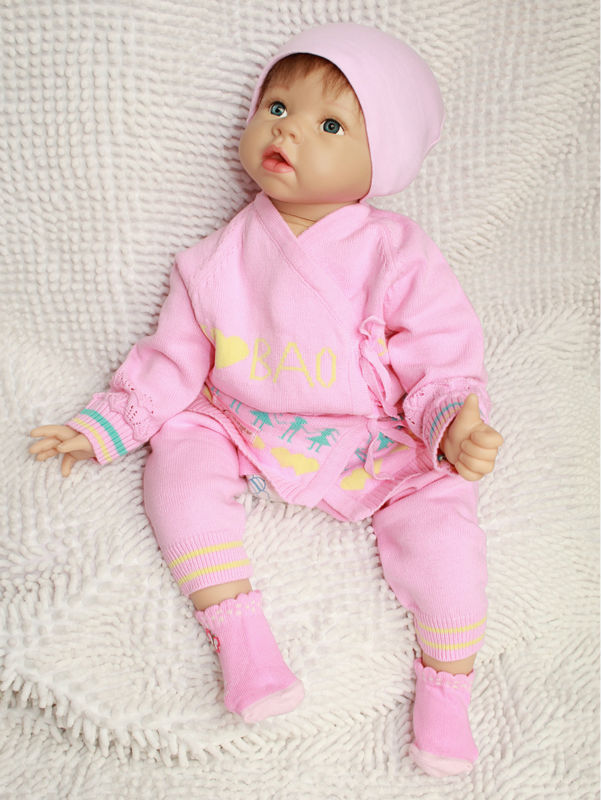 Life Size Baby Doll Silicone Vinyl 22 Inch Wholesale Baby