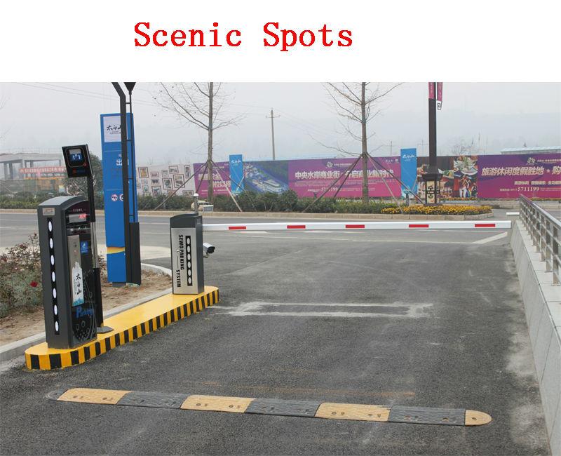 Heavy Duty Electric High Security Car Parking Barrier