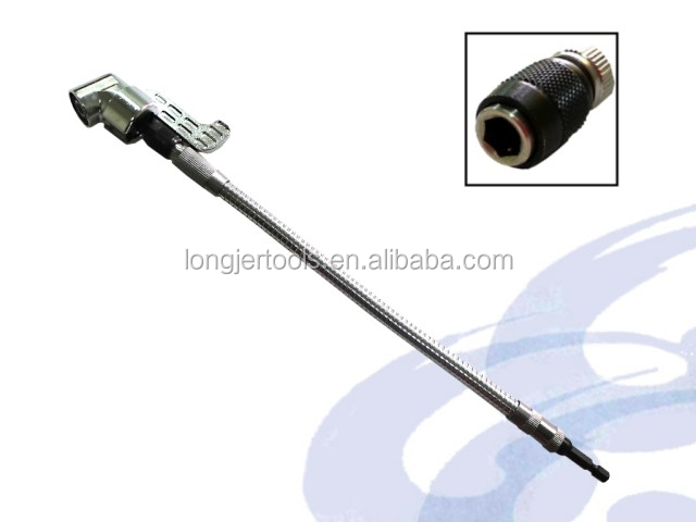 Right Angle Axle : Right angle screwdriver with the quick chuck cm flexible