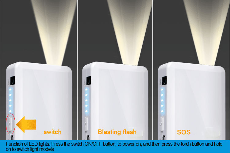 2014 Cheapest! Portable Power Bank 5v 2A 12V/2A 19v 3.5A 12000mAh for Car Star / Laptop/ Cellphone charge