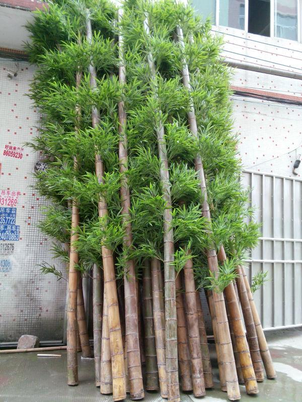 Artificial Bamboo Stalks ~ Artificial bamboo on sale bonsai