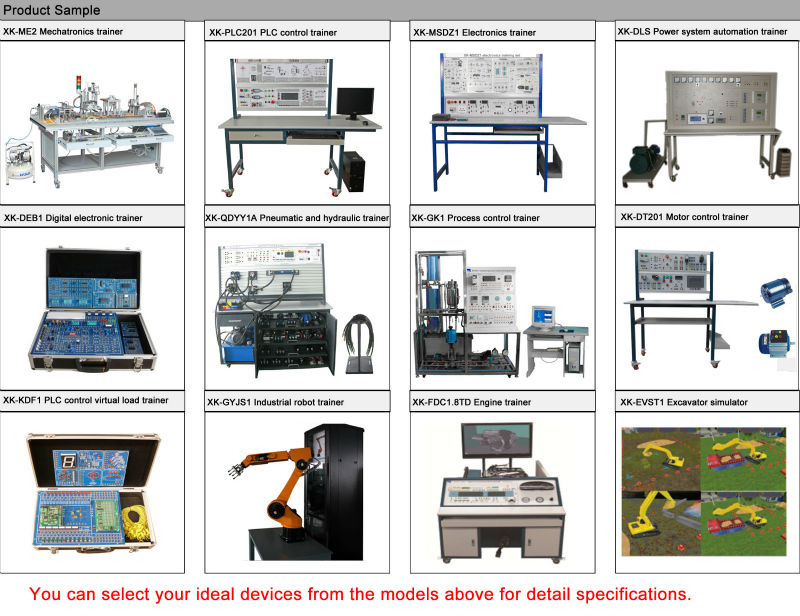 Educational Kit Electrical Trainer Xk Mmt1a Dc Servo Motor Digital Closed Loop Control Training