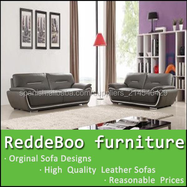 moderno de moda de cuero sofá muebles india en Shen Zhen fábrica de ...