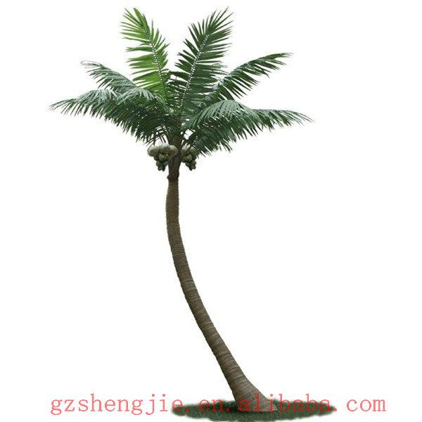 Faux cocotier artificiel des arbres et des plantes des for Arbres en plastique artificiels