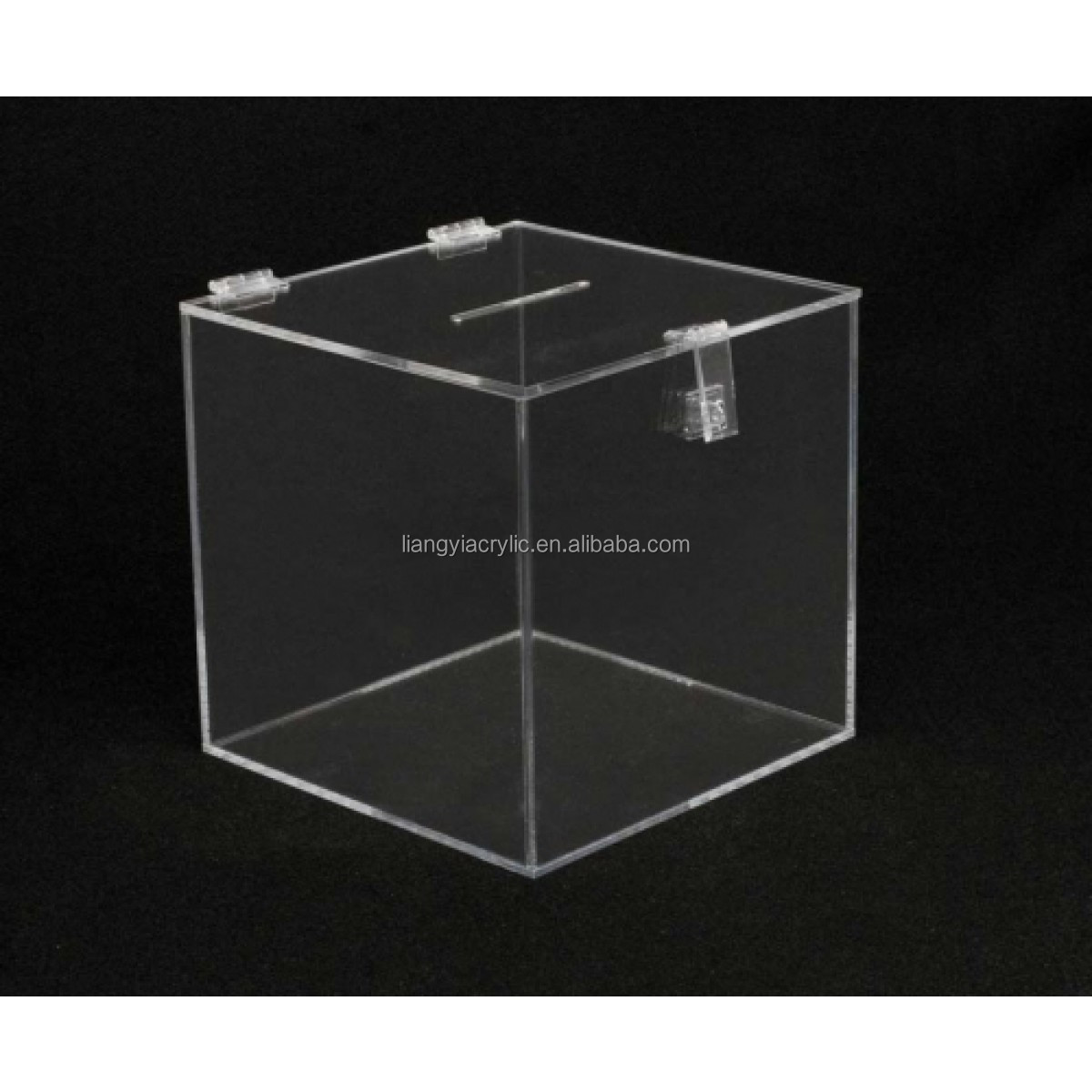 Acrylic Box Letters : Popular wall mounted clear acrylic mailbox postbox letter