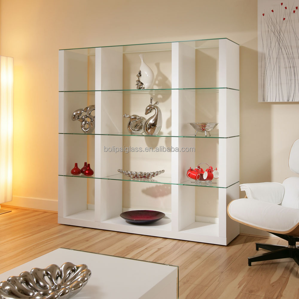 Wholesale Wall Mount Floating Glass Shelf For Living Room