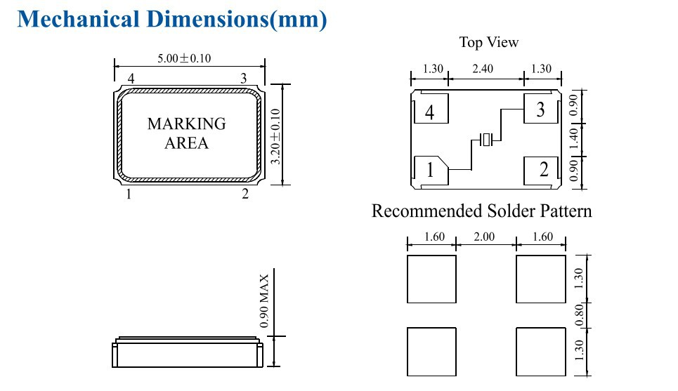 hosonic hcx-5sb серии smd 14,318 МГц 14,318 м резонатора кристалла 14,31818 МГц 14,31818 m 5032 5 * 3.2 5 мм * 3.2 мм 5 3.2