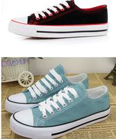 Кроссовки для женщин мужчин 7 цветов классические высокой Холст обувь повседневная обувь 35-44