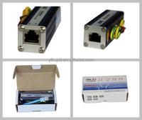 всплеск переключателем с стандартный разъем rj45 для poe gige сети protecter