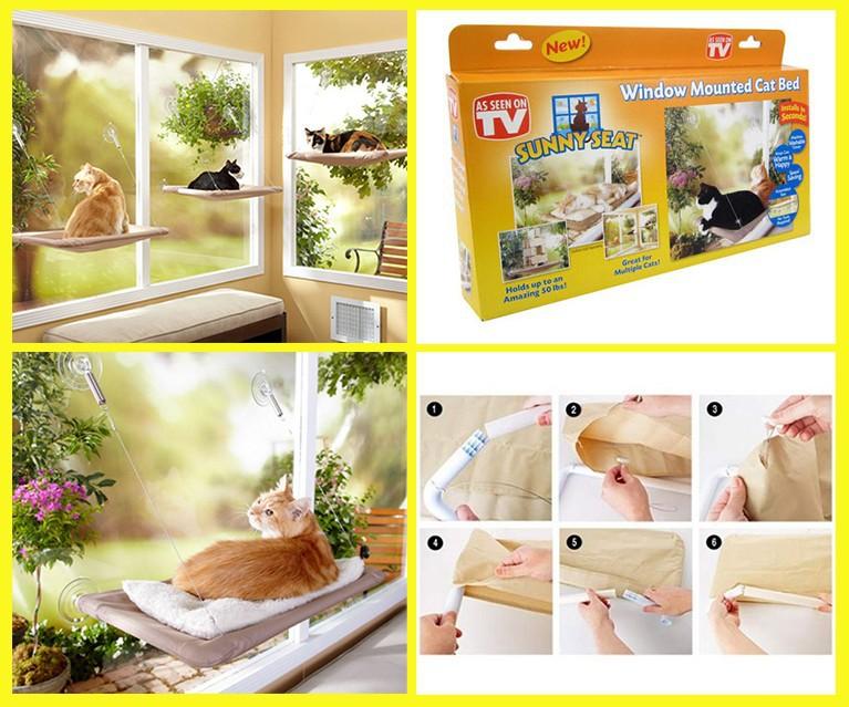Лежанка подвесная для кошек