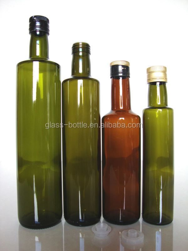 glass olive oil bottles