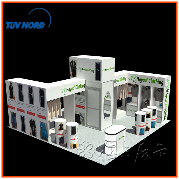 Exhibition Booth Accessories : Rent the exhibition equipment large stall