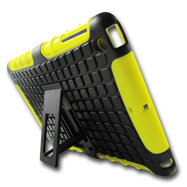 Hybrid robot case for ipad mini PC+Silicone combo for Apple ipad mini case