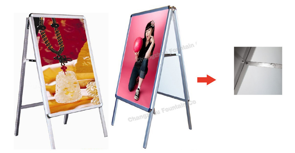 Diy poster board stand