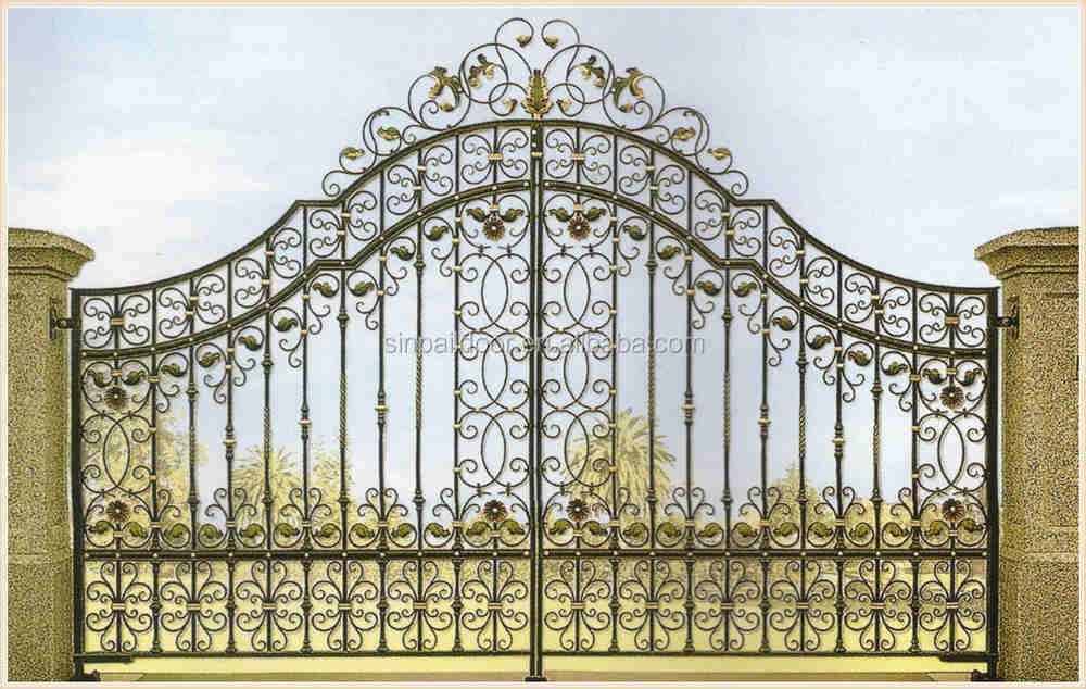 Modern wrought iron arch philippines garden gate design manufacturers buy wrought iron garden - Arch main door designs ...