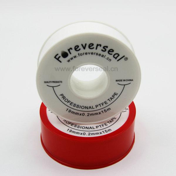 흰색 범용 나사 씰 테이프 PTFE