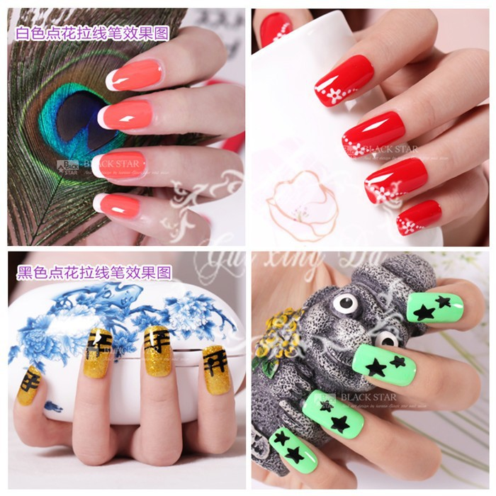 Hot Designs Nail Art Ideas nicole 39 s take i so wish they had kits like this when was younger because hot designs nail art pens and giveaway Nail Art Designs