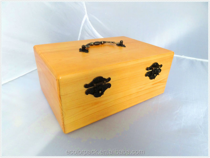Special Custom Jewelry Solid Wood Box