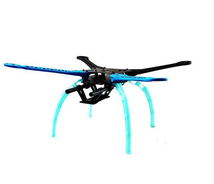 JMT Drone Quadrocopter 4-axis Aircraft Kit 500mm Multi-Rotor Air Frame 6M GPS APM2.8 Flight Control No Transmitter Battery