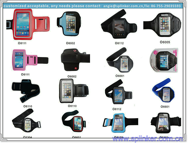 High Quality Armband PVC Waterproof Beautiful Beach Bag For Iphone 5 P5526-195