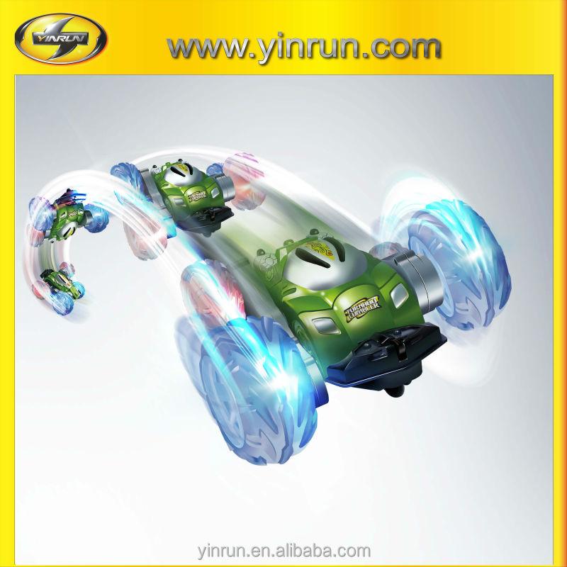 toy manufacturer tornado tumbler rc car flip toy car