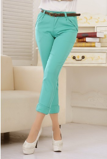 Женские брюки roll/up YXL9001LQ F00010