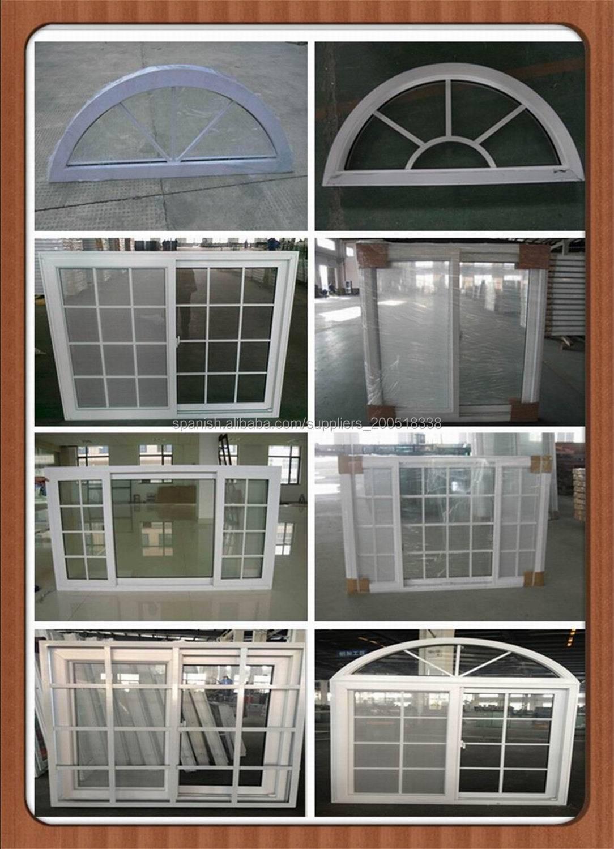 PVC ventanas de arco barato-Ventanas-Identificación del producto ...