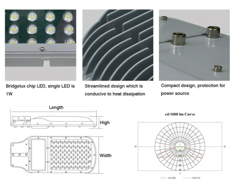 Anern 2014 new production high quality IP67 120W led street light price/led street lamp