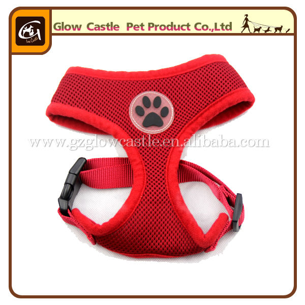 Glow Castle Fashion Paw Design Dog Harness With Soft Breathable Airmesh (8).jpg