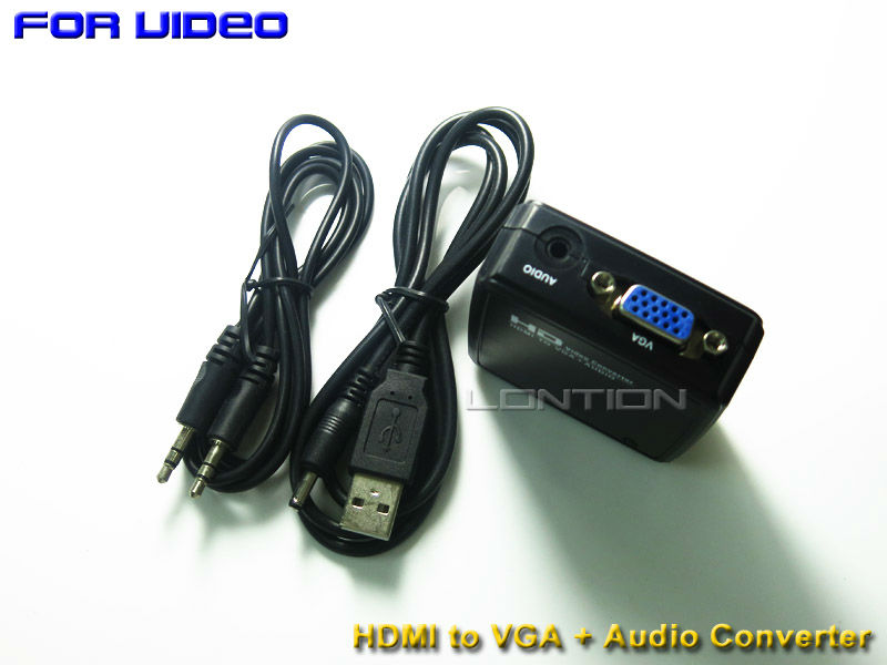 Factory directly supply high quality s-video vga rca to hdmi converter