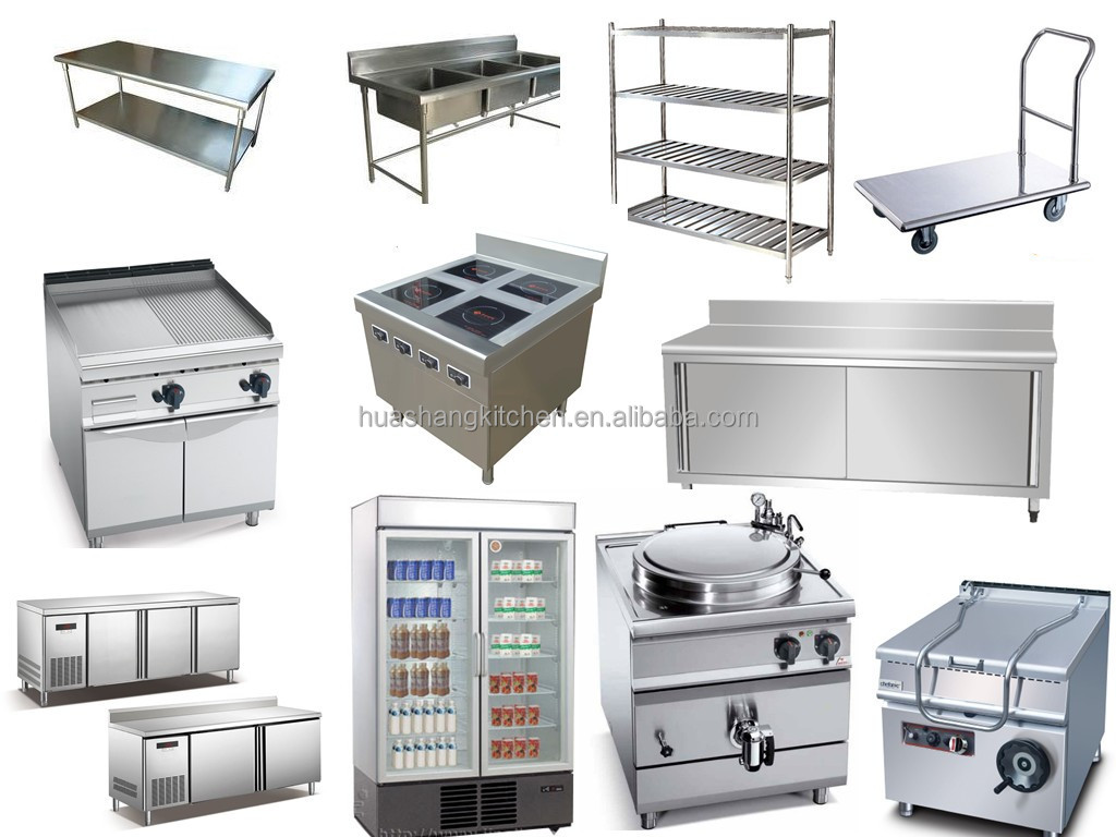 Hotel equipamento do edif cio de metal pia da cozinha de for Equipo mayor de cocina pdf