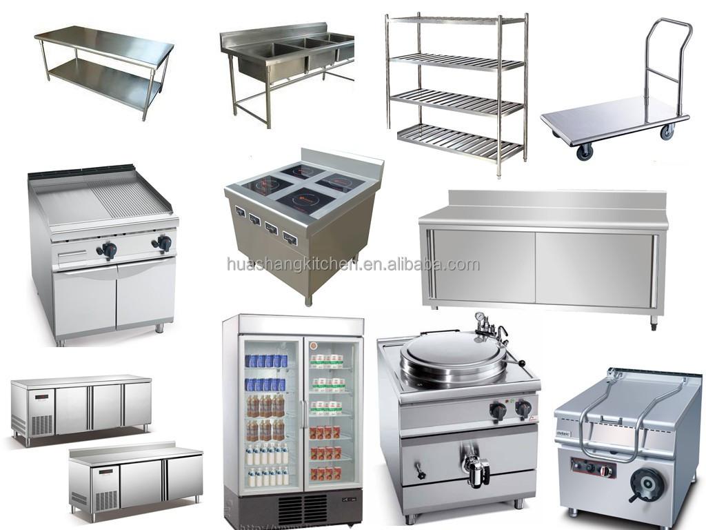 Hotel equipamento do edif cio de metal pia da cozinha de for Aparatos de cocina