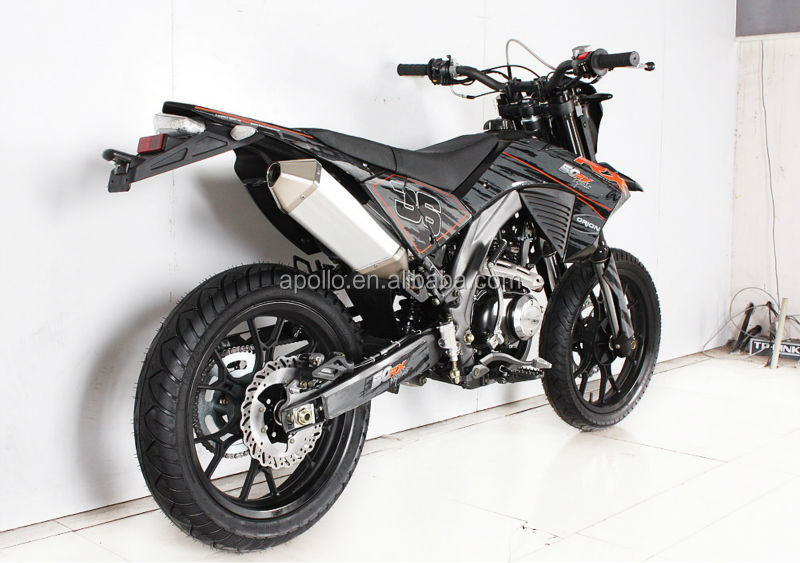 China Apollo Orion EEC 250cc On Road Motorcycle Super motard Enduro Bike