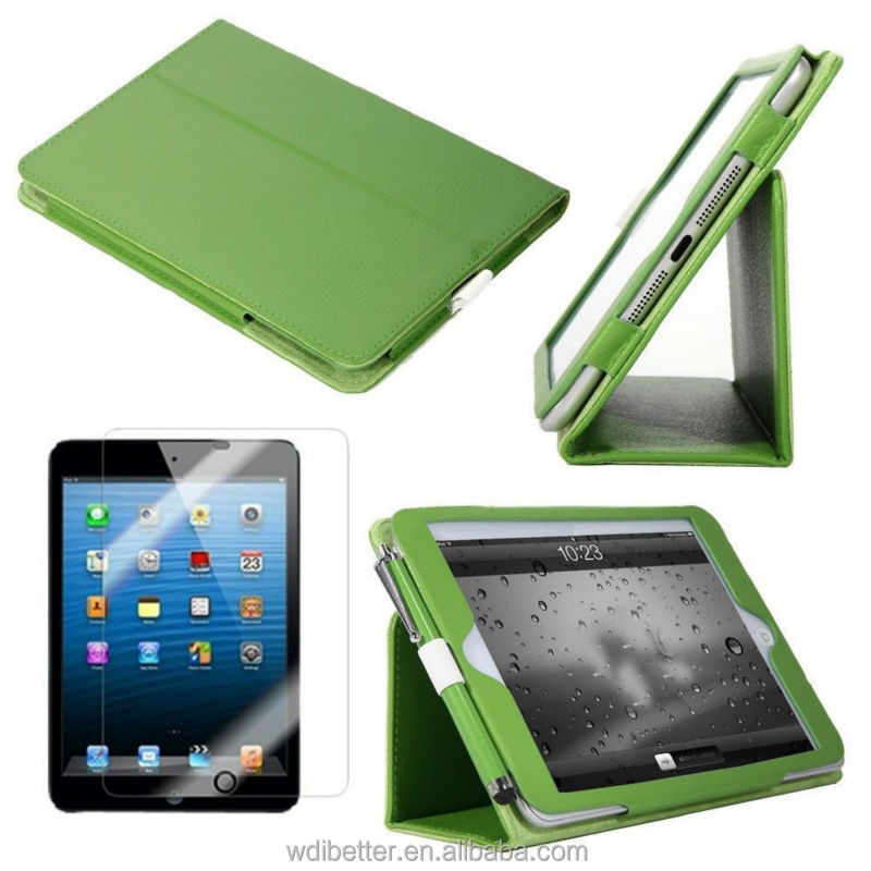 Ultra Slim Leather Case For Ipad 2 Tablet PC Leather Case For Ipad