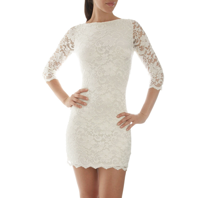 Женское платье Fashion Women Bandage Dress Lace Floral Backless Designs Dresses New Mini Black Bodycon Dress Party Sexy Women Dresses