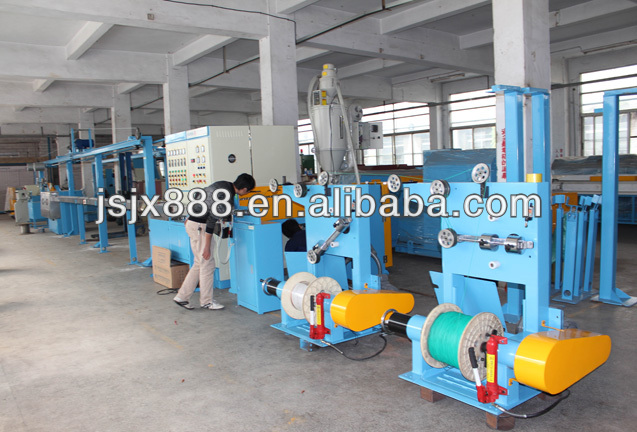 YCJ-80 PVC wire and cable extrusion machine