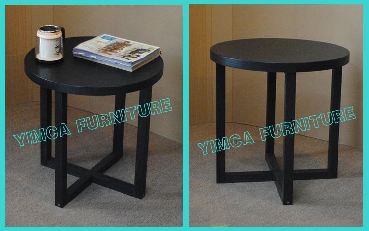 Yimca redonda moderna mdf mesa lateral com pernas cruzadas - Bandeja redonda ikea ...