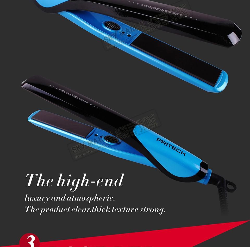Утюжок для выпрямления волос PRITECH 110v/220v TA-808