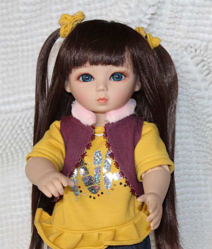 45cm Sd Bjd Doll Silicone Vinyl Ball Jointed Doll For Girl