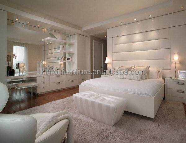 Moderno e di lusso mobili camera da letto con vanità camera da ...