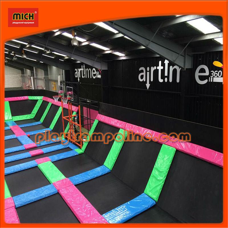 Mich trampoline park design manufacture field assembly for Indoor trampoline park design manufacturing