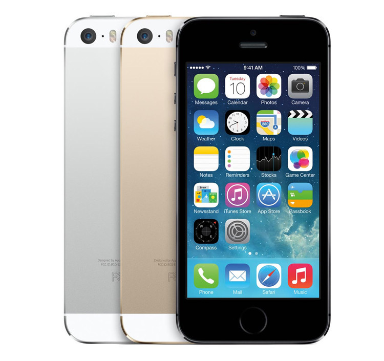 Мобильный телефон Apple iPhone 5S Dual Core 16GB GSM WCDMA WiFi GPS 8MPix 4.0""