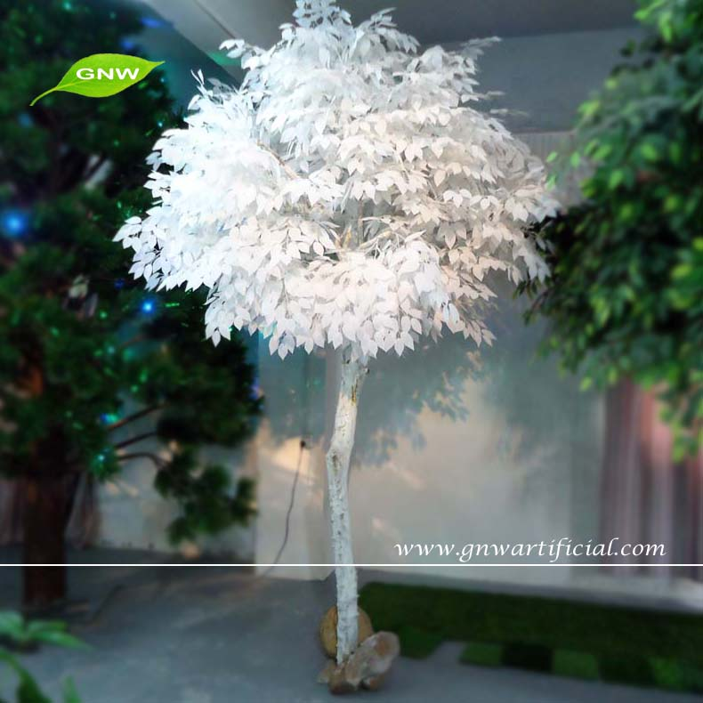 10ft high white artificial winter tree dry tree for for Artificial trees for decoration