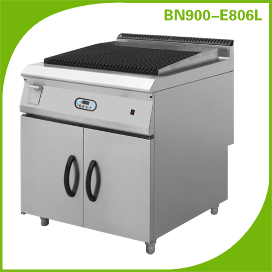 Industrial Electric Grill ~ Range commercial electric lava rock grill bn e