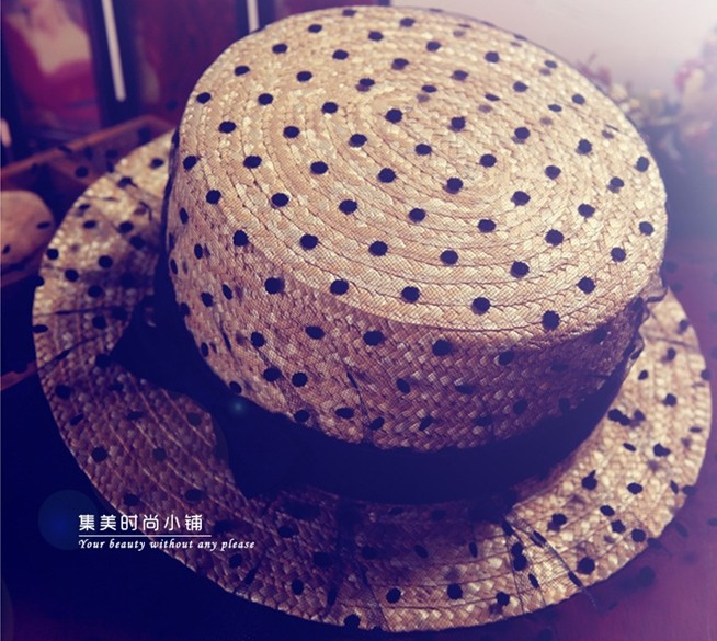 Модный Женщины Wide Large Brim Floppy bohemia Japan's sexy Кружево bow Sun Straw Hat Cap for adult 57cm