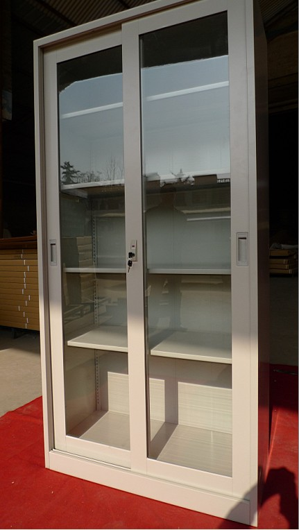 Different Color Available Metal Sliding Door Shoe Cabinet Buy