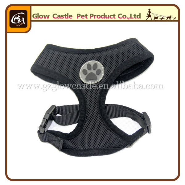 Glow Castle Fashion Paw Design Dog Harness With Soft Breathable Airmesh (4).jpg