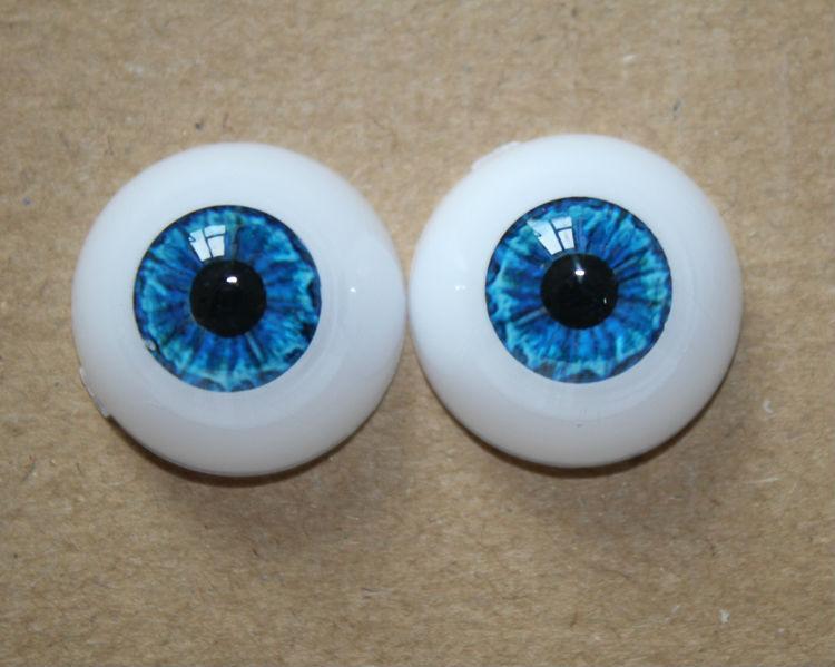Стеклянные глазки для кукол