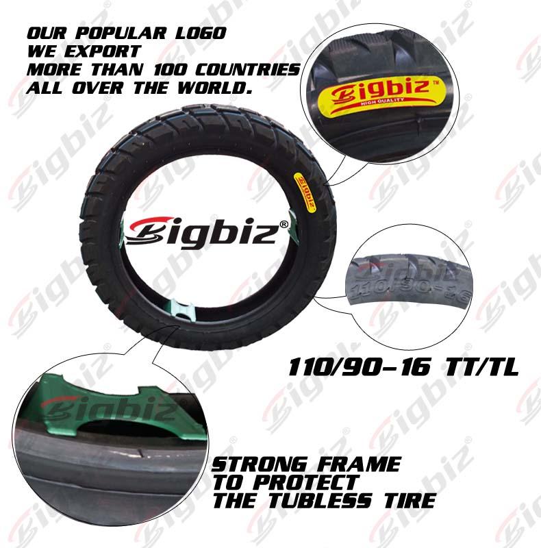 Motocicleta do aro do pneu, peças maxxi qualidade pneu da motocicleta 300-18